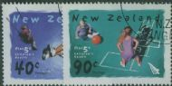 NZ SG2635-6 Playgrounds health stamps set of 2